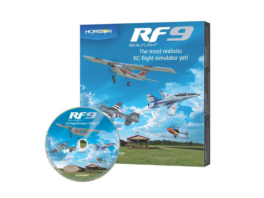 Realflight RF9 Software Only Horizon Hobby Edition A-RFL110